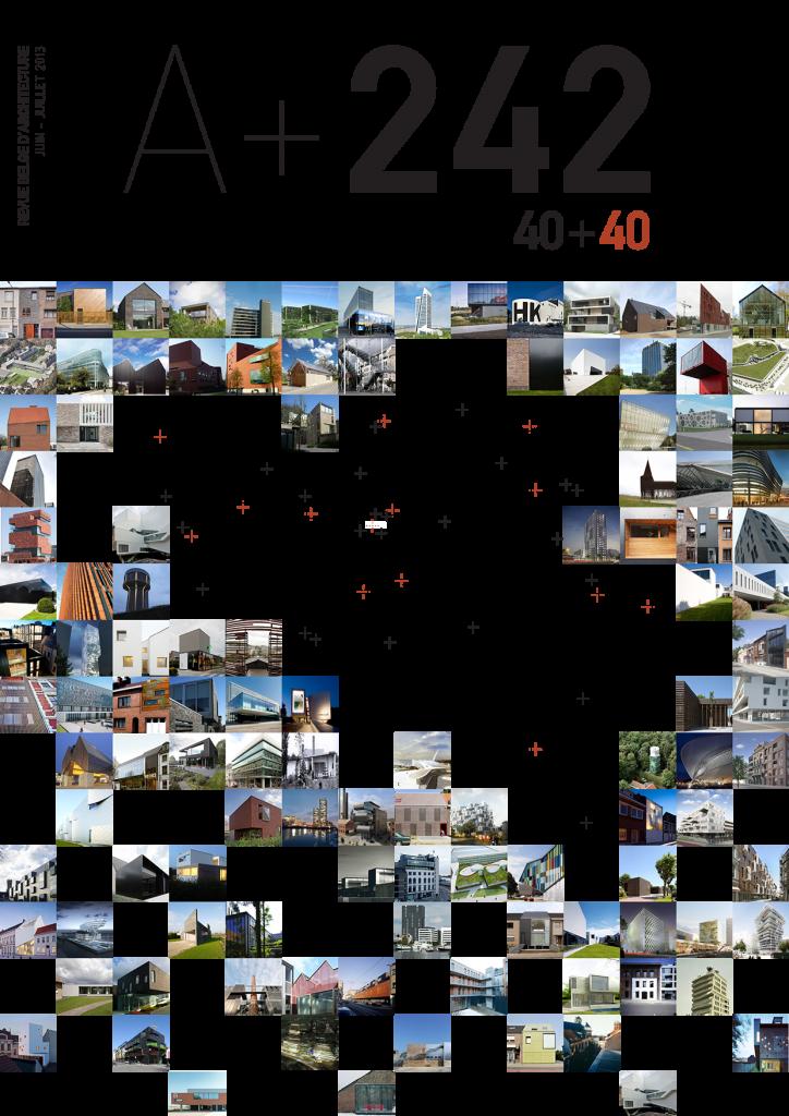 COUVERTURE - A+ REVUE D'ARCHITECTURE 242